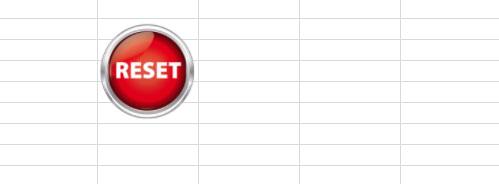 dati cancellati dallo spreadsheet come definito nell'editor di script
