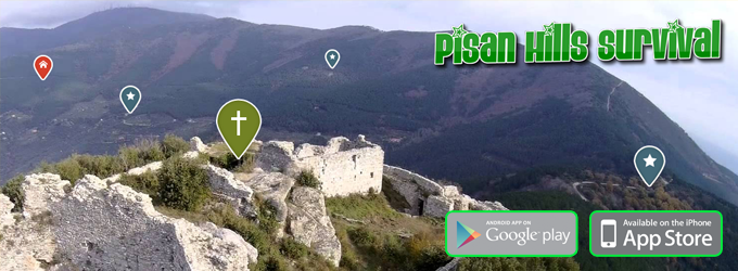 pisan hills survival - sopravvivere sui monti pisani - app per android e ios