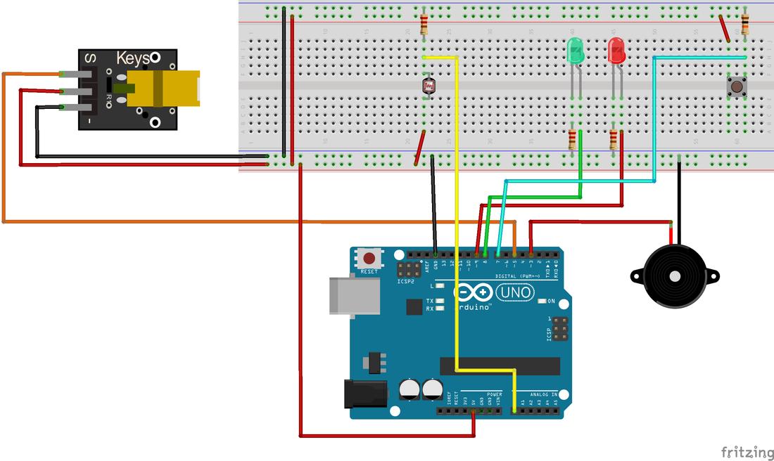 arduino - allarme laser