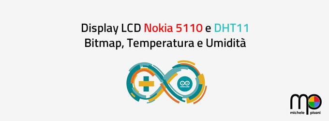 arduino display lcd nokia 5110 bitmap u8glib dht11 temperatura umidita