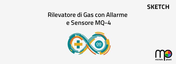 arduino - rilevatore di gas con allarme