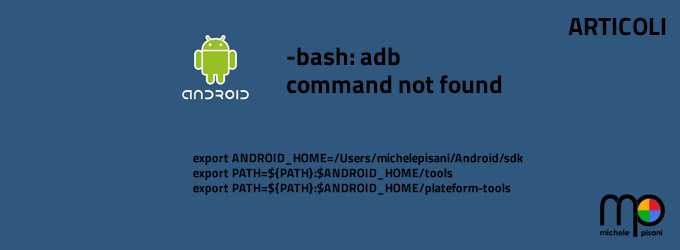 -bash: adb: command not found