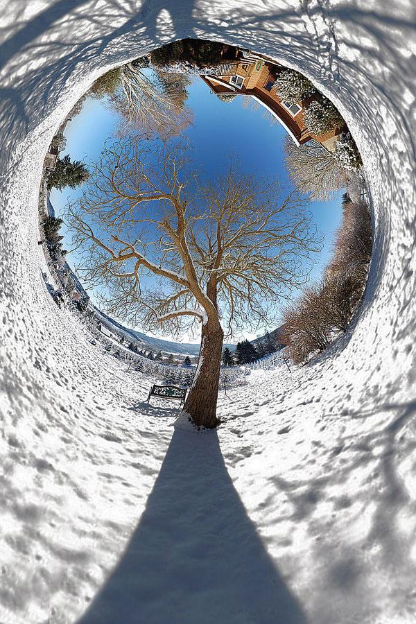 Creare un Pianeta con una foto con Photoshop in 3 Passaggi - Effetto Tunnel