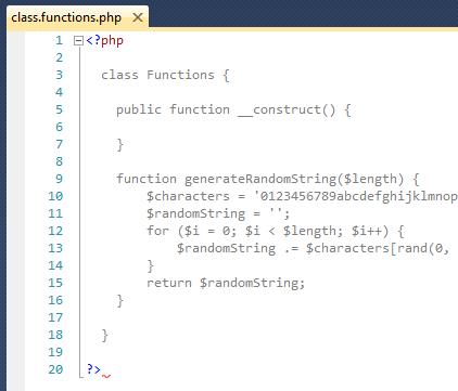 PHP - Risultato visivo del codice PHP di un file aperto con Visual Studio nativamente