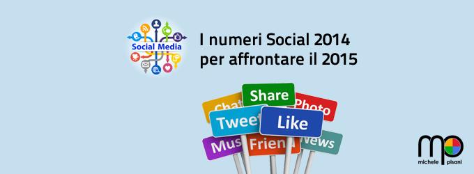 Andamento dei Social Network nel 2014