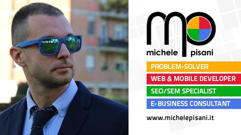 Michele Pisani - Sviluppatore web, mobile e consulente SEO/SEM (Livorno, Toscana)
