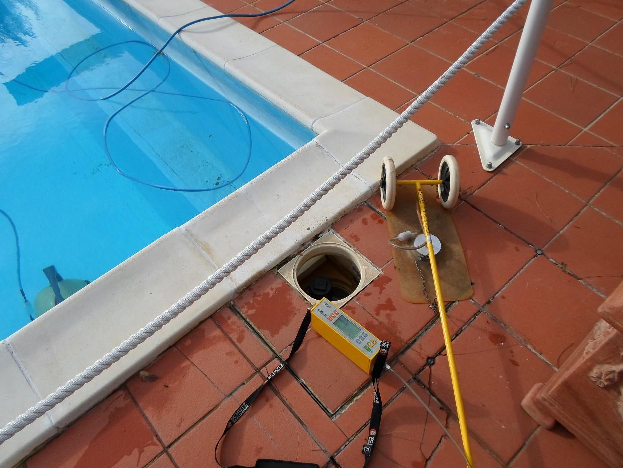 Perdite d'acqua su piscine