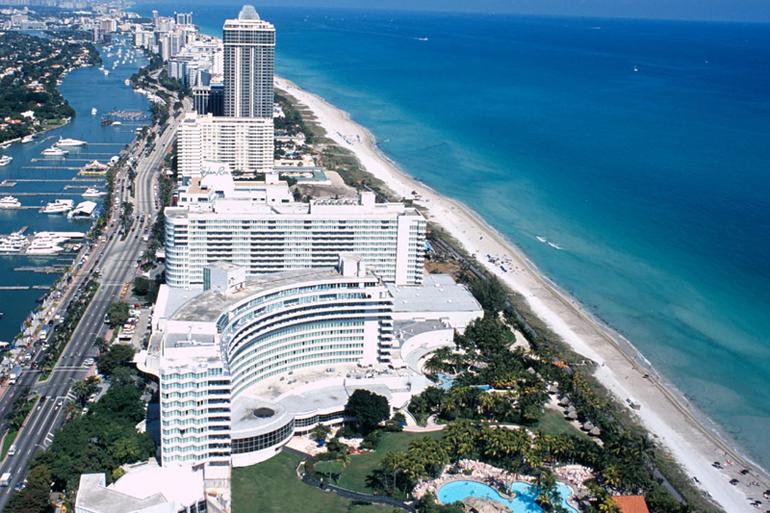 Miami and Antigua
