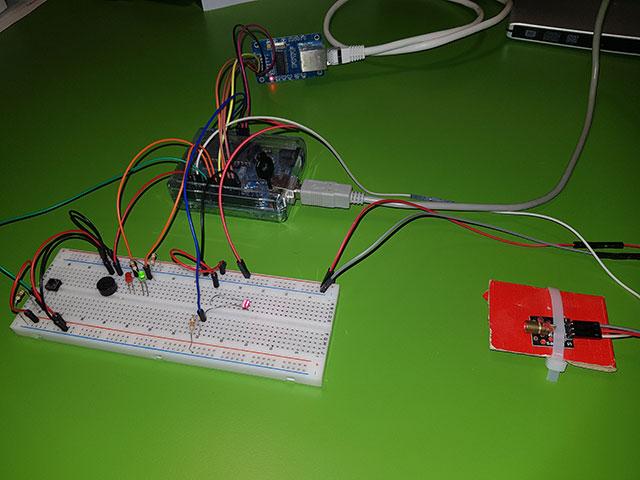 schema arduino laser ethernet hr911105a