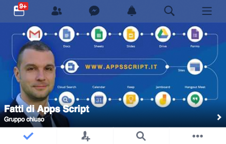 fatti di apps script - gruppo su facebook