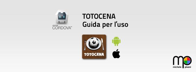 Apache cordova - Andorid - iOS - Totocena linee guida