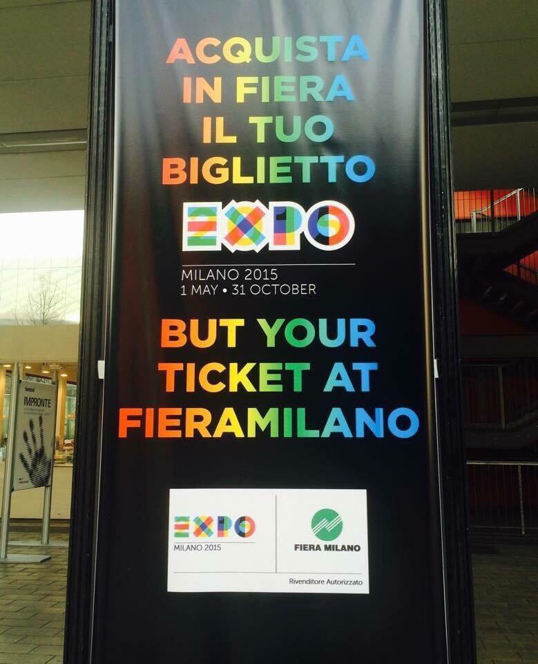 Expo 2015 - errori nei testi e nei contenuti dei cartelloni esposti