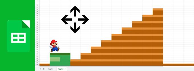 Muovere un'immagine in un Google Sheets
