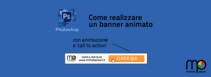 Photoshop - Creare un banner animato in formato gif