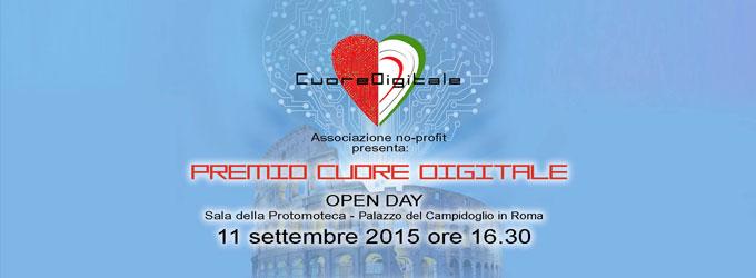Premio Cuore Digitale - Michele Pisani parteciperà all evento con Blind SMS Reader
