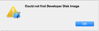 Xcode - Could not find Developer Disk Image